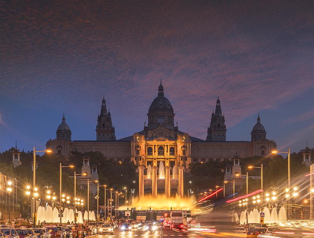 Montjuic, Barcelona, Catalonia, Spain, Europe - 772-3701