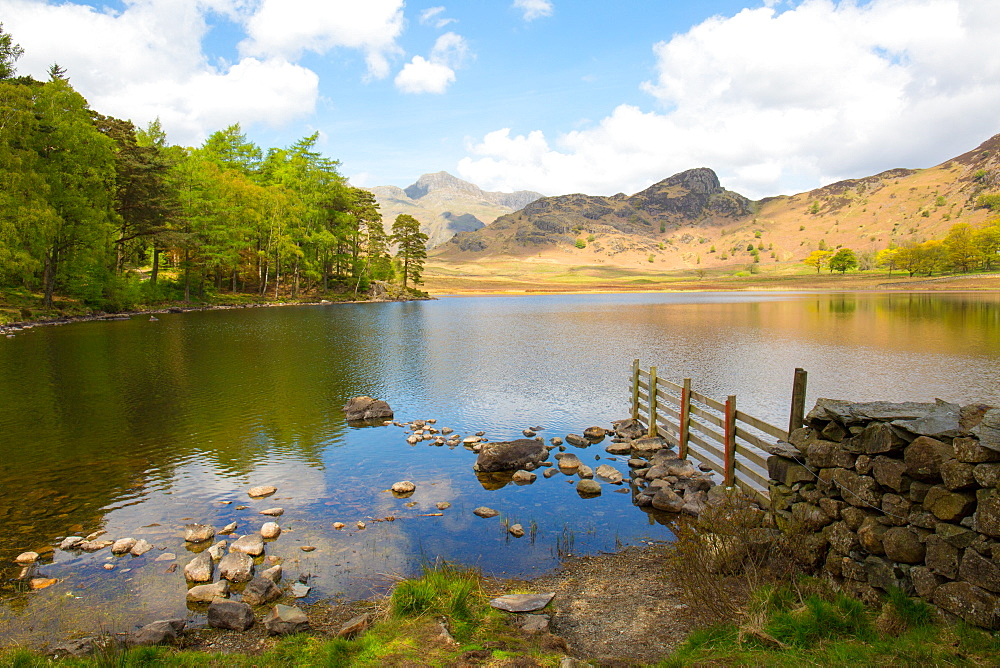Blea Tarn, Little Langdale, The Lake District, UNESCO World Heritage Site, Cumbria, England, United Kingdom, Europe - 783-125