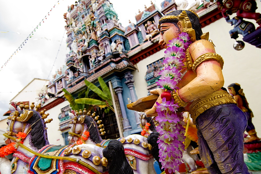 Hindu festival, Georgetown, Penang, Malaysia, Southeast Asia, Asia - 784-292