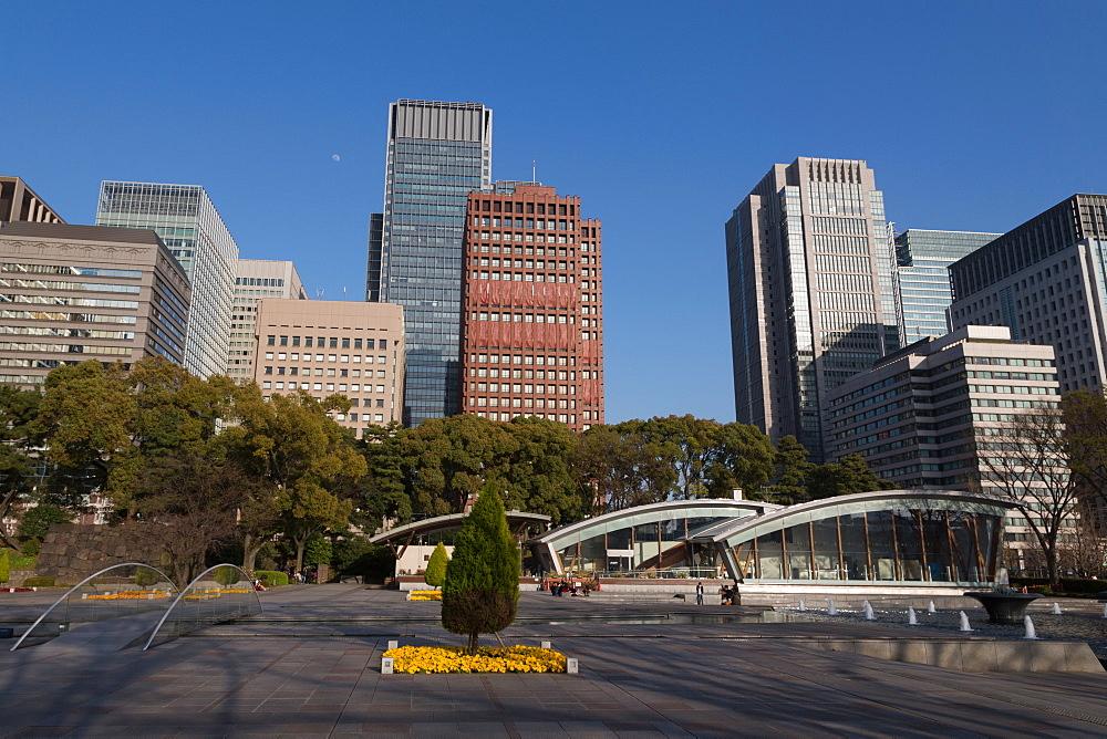 Wadakura Fountain Park, Tokyo, Japan, Asia