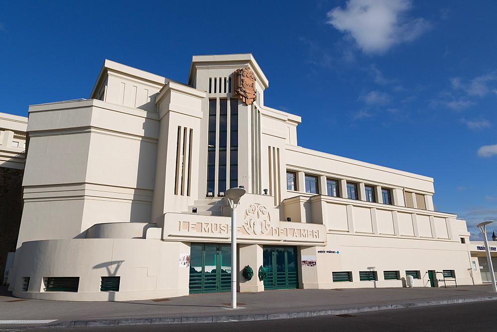 Le Musee de la Mer in Biarritz, Pyrenees Atlantiques, Aquitaine, France, Europe