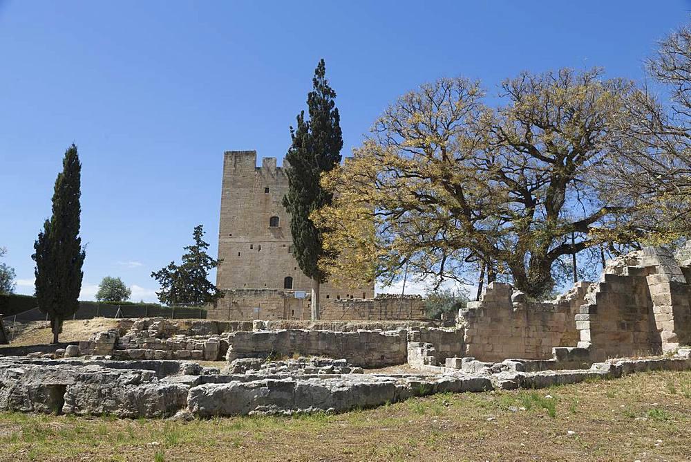 Kolossi Castle in southern Cyprus, Mediterranean, Europe - 785-2346