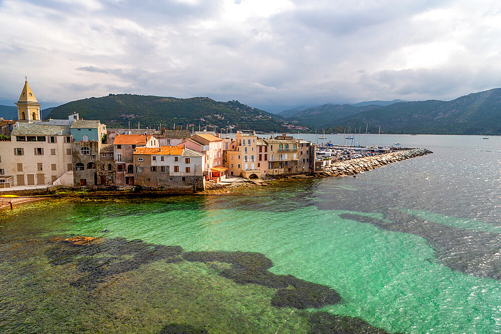 The small town of Saint Florent in northern Corsica - 785-2373