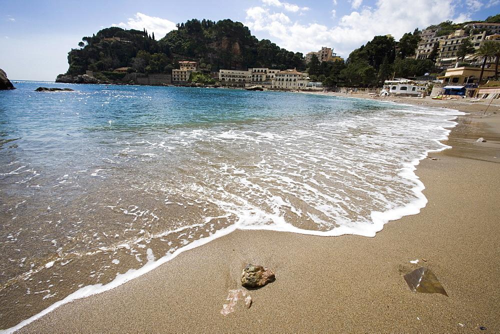 Mazzaro beach, Taormina, Sicily, Italy, Mediterranean, Europe