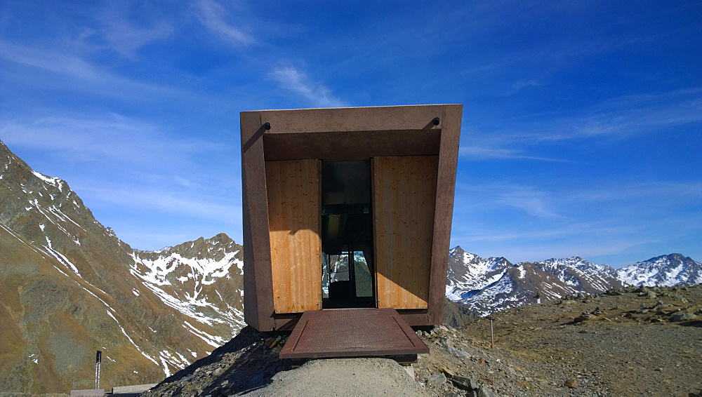 Exterior Of Pass Museum At Timmelsjoch In Austria