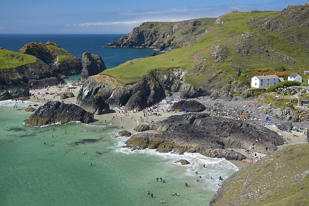 Kynance Cove, Cornwall, England, United Kingdom, Europe - 790-4