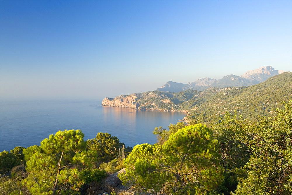 Cala de Deia, north coast of Majorca, Balearic Islands, Spain, Mediterranean, Europe - 791-23