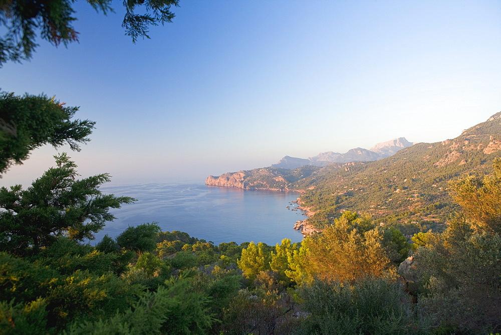 Cala de Deia, north coast of Majorca, Balearic Islands, Spain, Mediterranean, Europe - 791-31