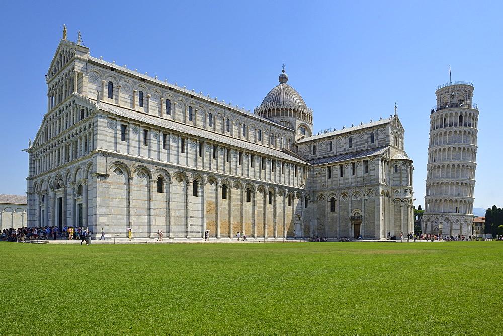 Cathedral Santa Maria Assunta, Piazza del Duomo, Cathedral Square, Campo dei Miracoli, UNESCO World Heritage Site, Pisa, Tuscany, Italy, Europe