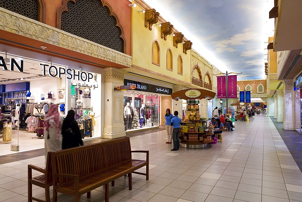 Ibn Battuta Shopping Mall, Dubai, United Arab Emirates, Middle East