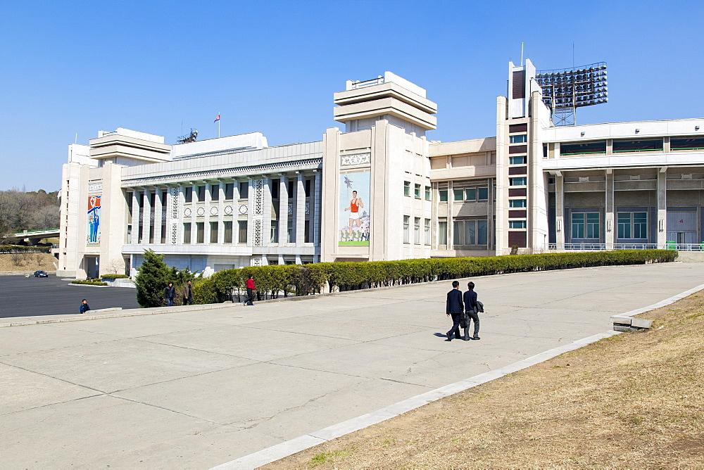 Kim Il Sung Stadium, Pyongyang, Democratic People's Republic of Korea (DPRK), North Korea, Asia