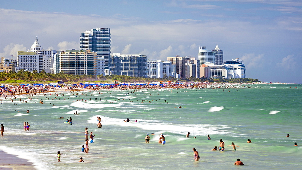 South Beach, Miami Beach, Gold Coast, Miami, Florida, United States of America, North America - 794-4410