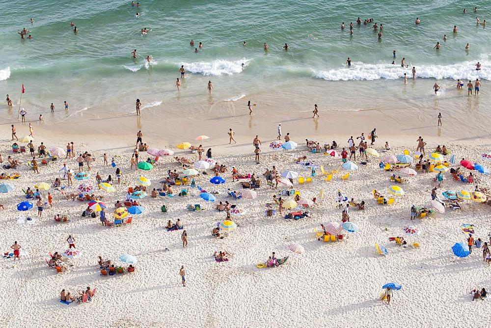 Ipanema Beach, Rio de Janeiro, Brazil, South America