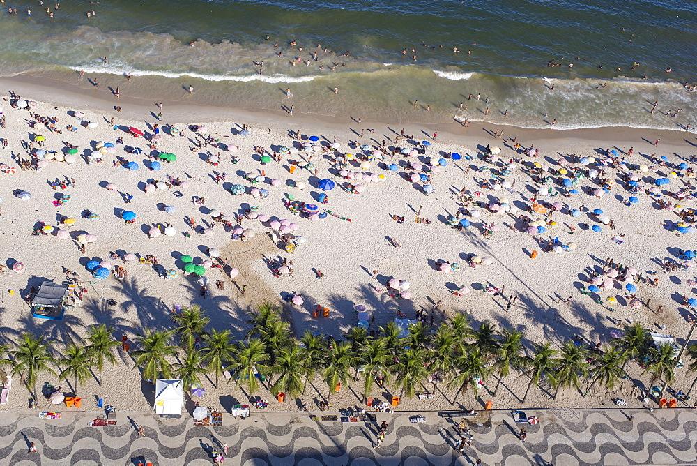 Copacabana Beach, Rio de Janeiro, Brazil, South America - 794-4442