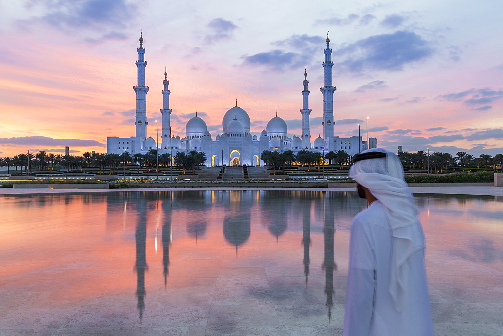 Sheikh Zayed Bin Sultan Al Nahyan Mosque, Abu Dhabi, United Arab Emirates, UAE - 794-4460