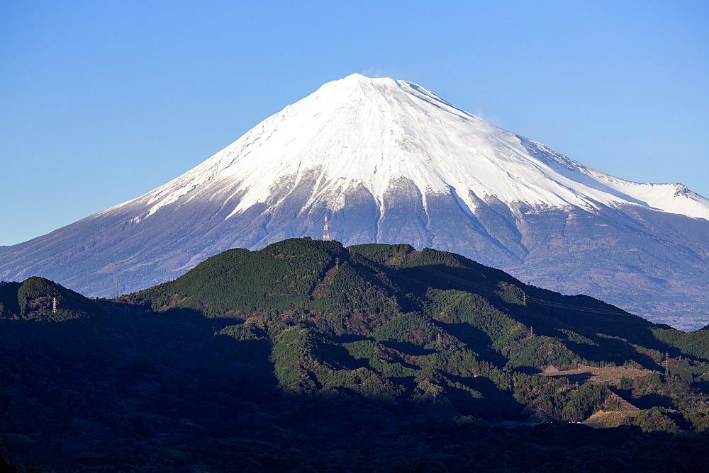 Mount Fuji, UNESCO World Heritage Site, Fuji-Hakone-Izu National Park, Shizuoka, Honshu, Japan, Asia - 794-4486