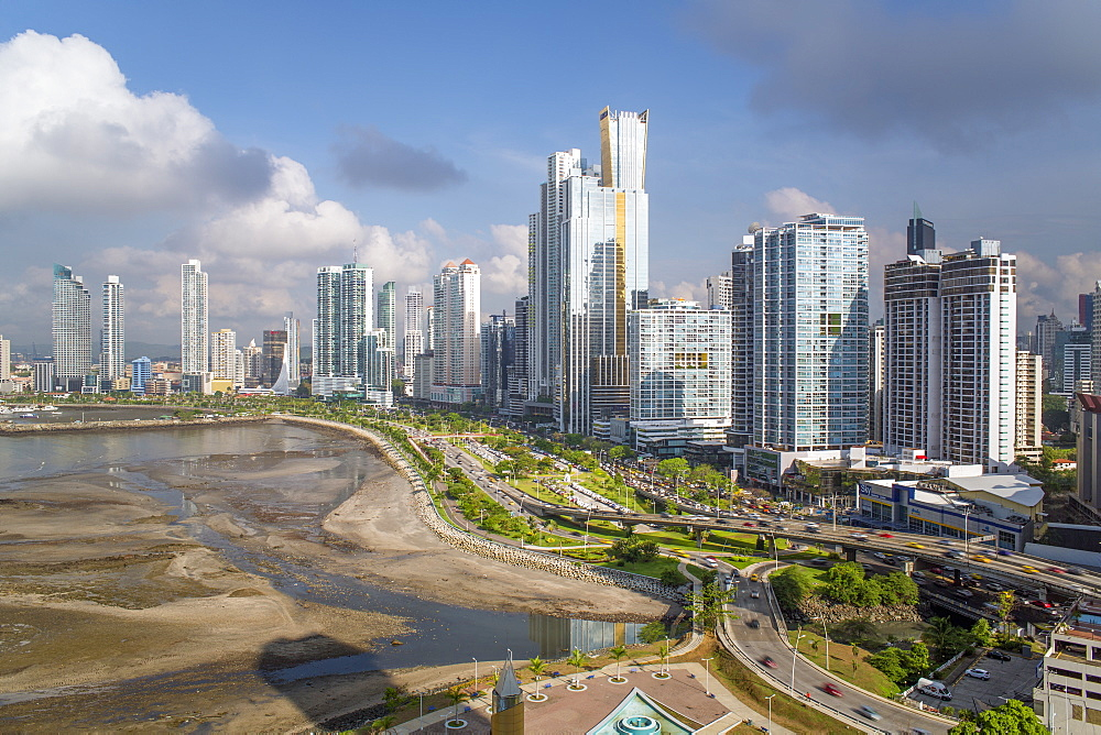 City skyline, Panama City, Panama, Central America - 794-4542