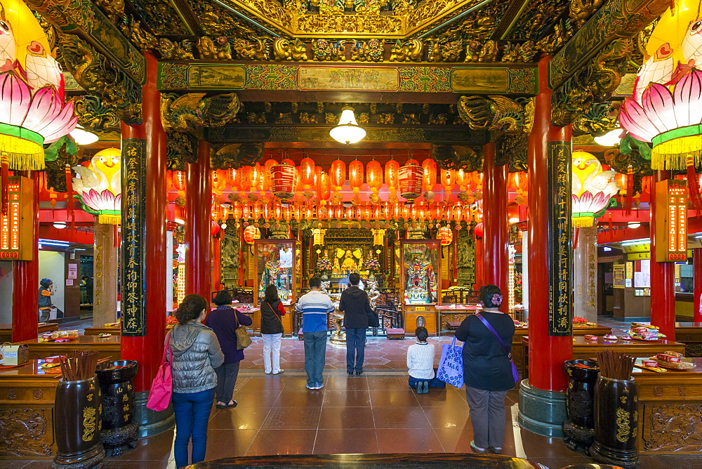 Ciyou Temple, Songshan District, Taipei, Taiwan, Asia