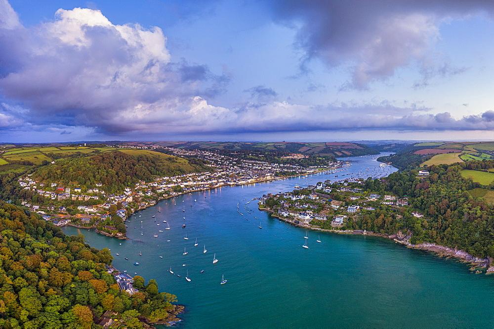 Dartmouth, River Dart, Devon, England, United Kingdom, Europe