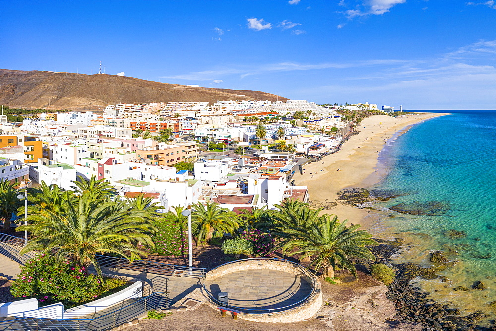 Jandia Peninsula, Morro Jable and Playa del Matorral, Fuerteventura, Canary Islands, Spain, Atlantic, Europe