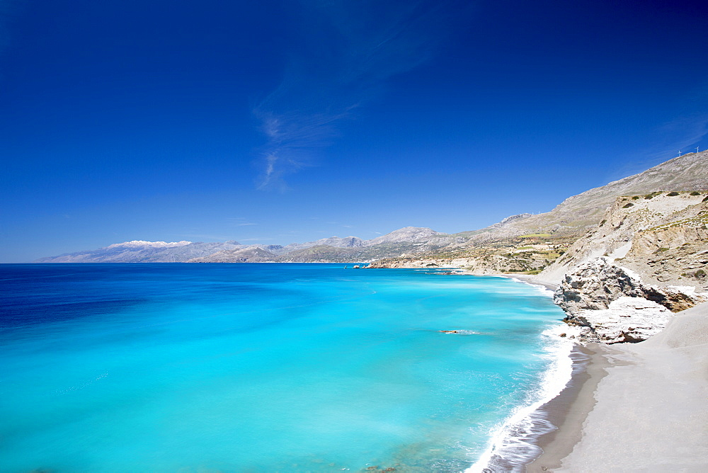 Agios Pavlos Beach on the island of Crete, Greek Islands, Greece, Europe - 795-599