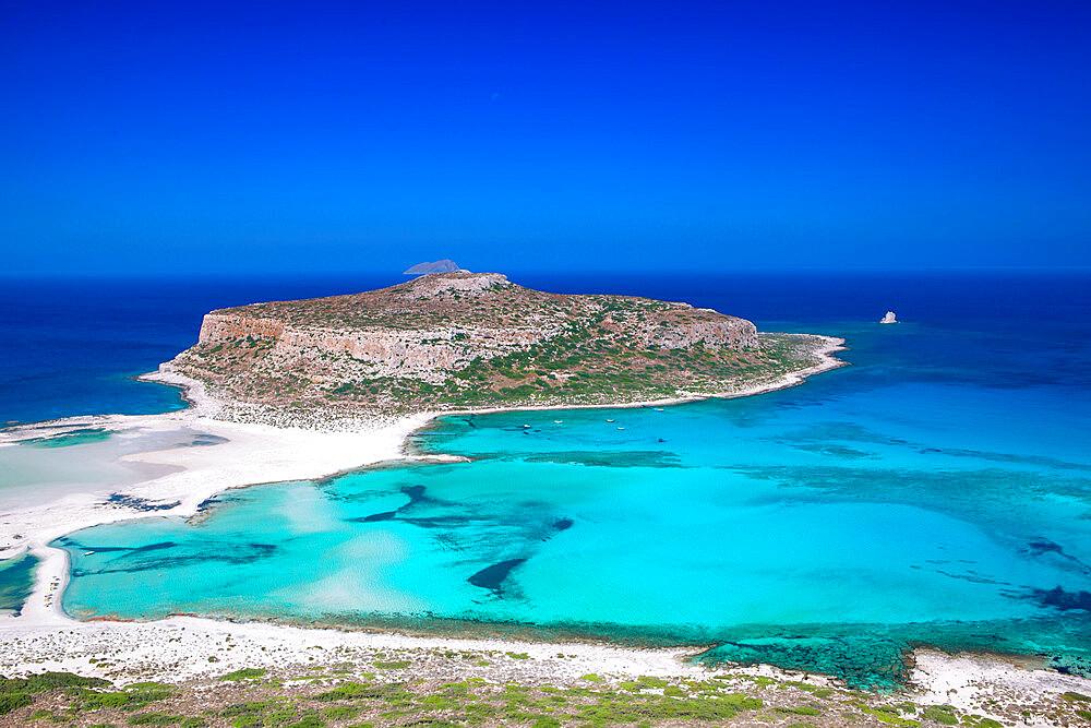 Balos Beach, crete island , greece