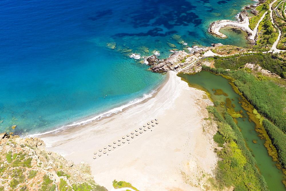 Geropotamos beach, Rethymno, Crete, Greek Islands, Greece, Europe