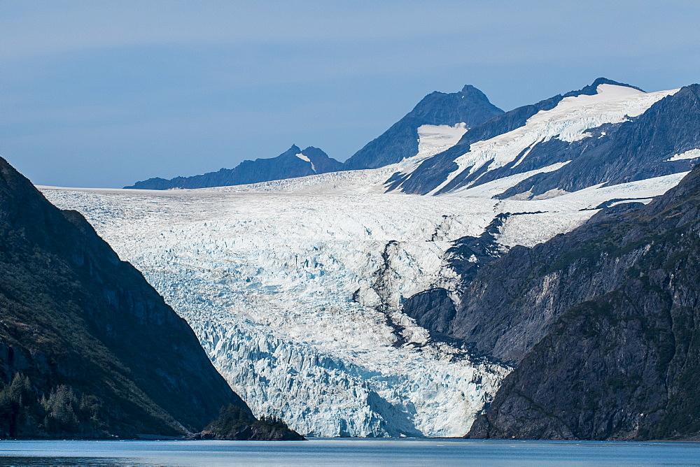 Holgate Glacier, Harding Icefield, Kenai Fjords National Park, Alaska, United States of America, North America - 796-2383
