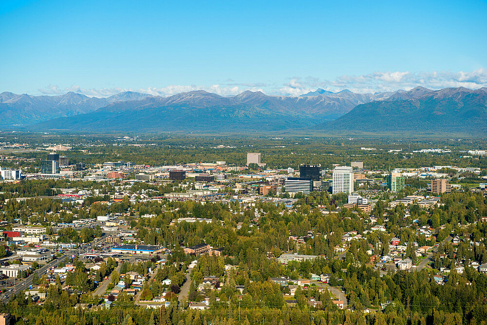 Anchorage, Alaska, United States of America, North America - 796-2392
