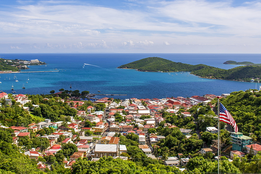 Charlotte Amalie on Saint Thomas, US Virgin Islands - 796-2455