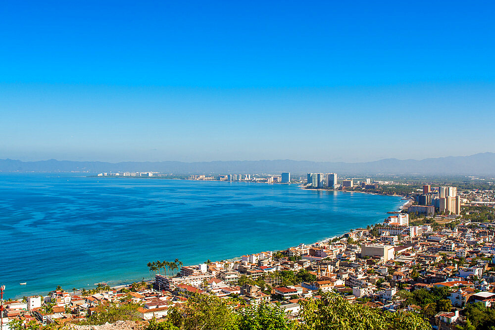 Skyline of Puerto Vallarta, Jalisco, Mexico. - 796-2471