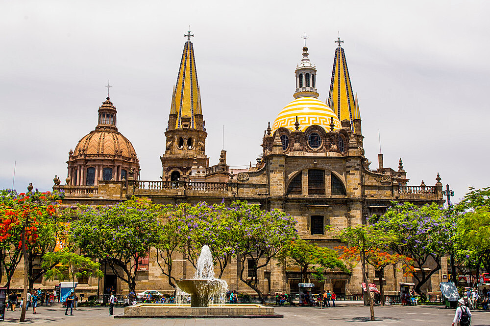 Guadalajara Cathedral, Historic Center, Guadalajara, Jalisco, Mexico. - 796-2475