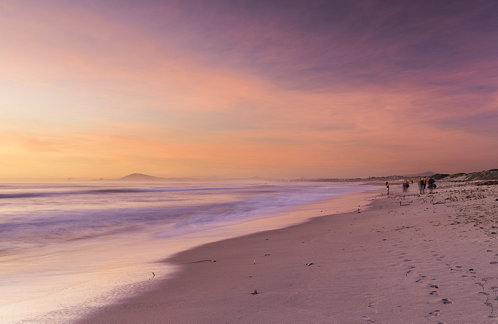 Milnerton Beach at sunset, Cape Town, Western Cape, South Africa, Africa