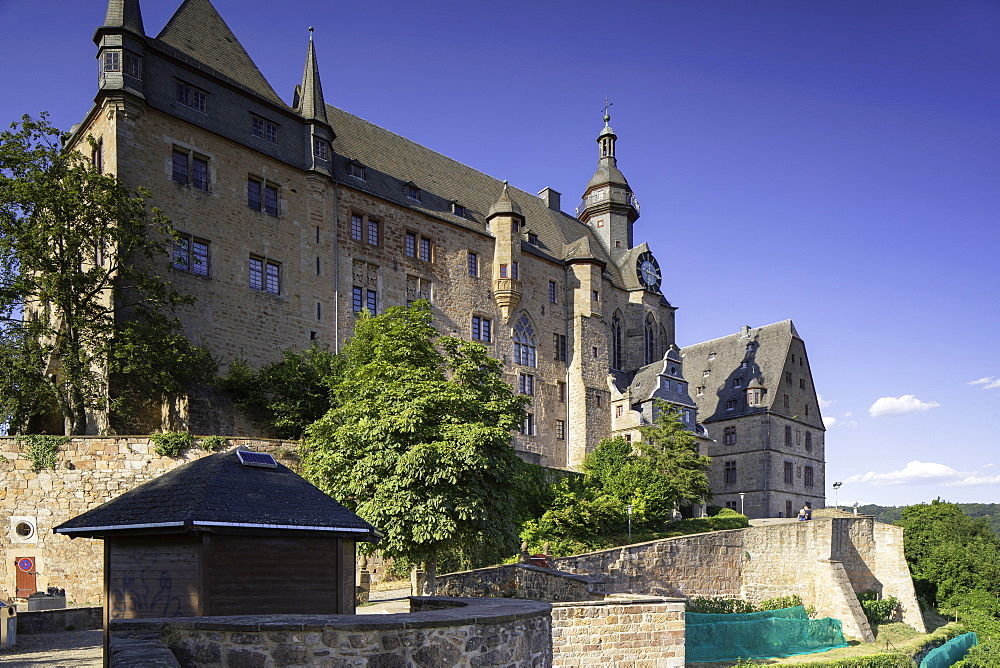 Landgrafenschloss, Marburg, Hesse, Germany - 800-3573