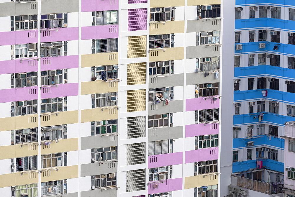 Public housing apartments, Shek Kip Mei, Kowloon, Hong Kong