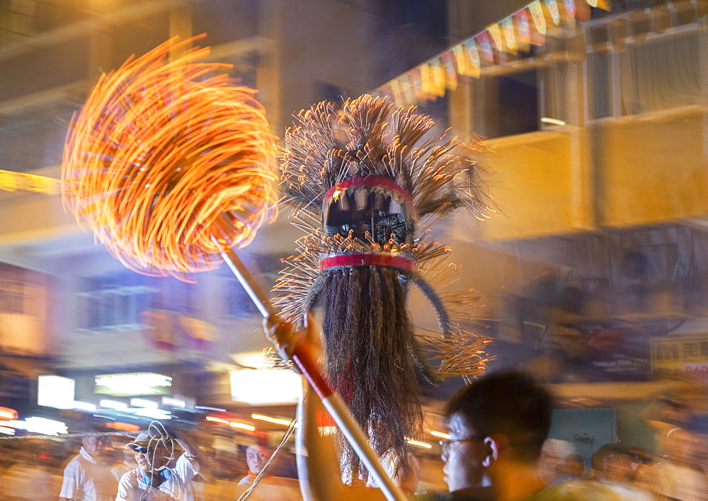 Tai Hang Dragon Dance, Tai Hang, Causeway Bay, Hong Kong, China, Asia