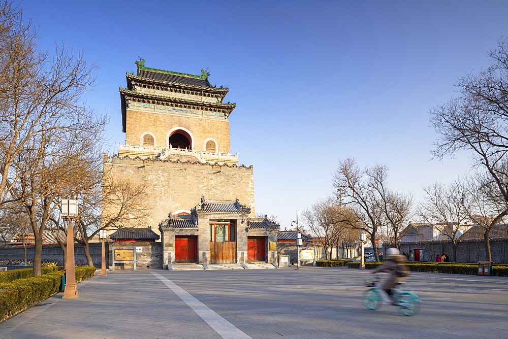 Bell Tower, Dongcheng, Beijing, China, Asia - 800-3922