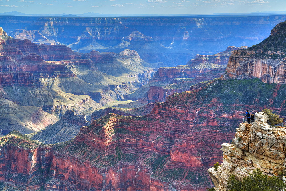 From Bright Angel Point, North Rim, Grand Canyon National Park, UNESCO World Heritage Site, Arizona, United States of America, North America