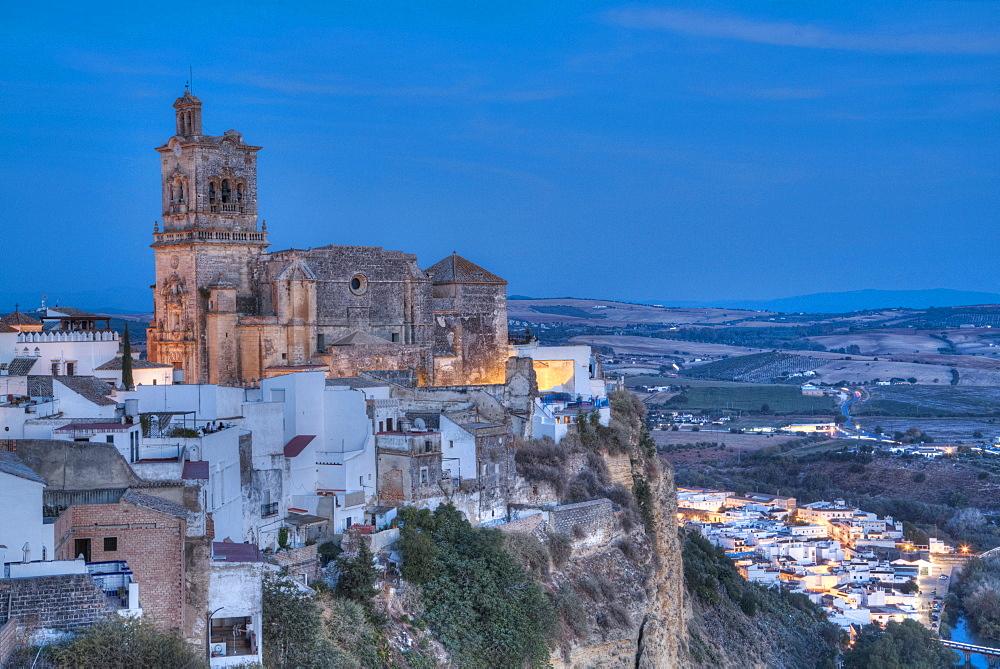 Church of San Pedro, Arcos de la Frontera, Andalucia, Spain, Europe
