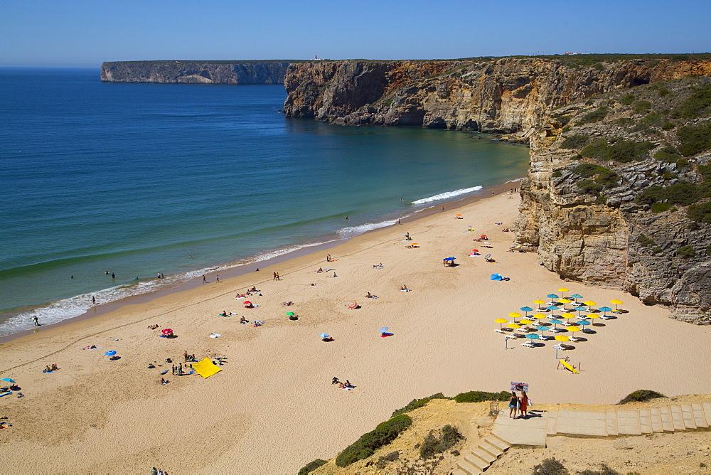Praia do Beliche, Sagres, Algarve, Portugal, Europe