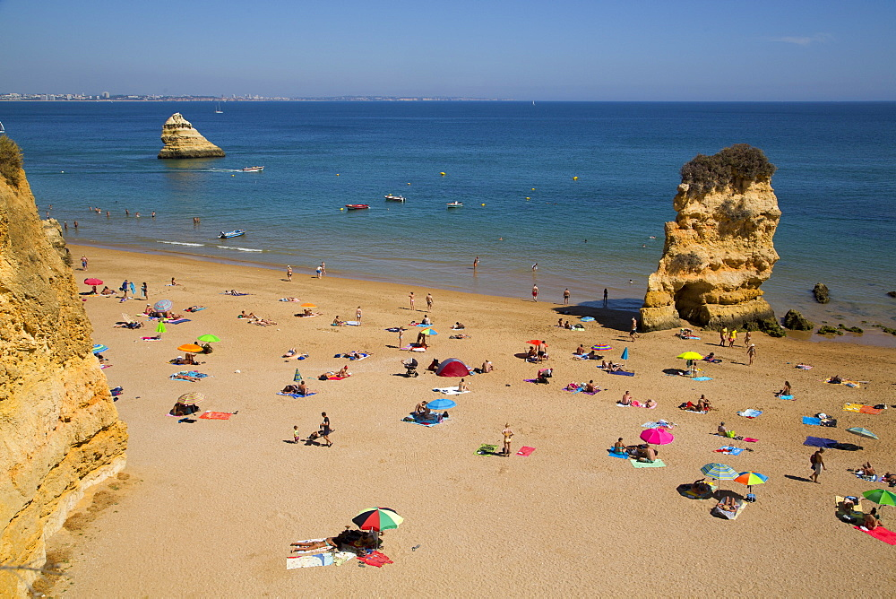 Praia Dona Ana, Lagos, Algarve, Portugal, Europe