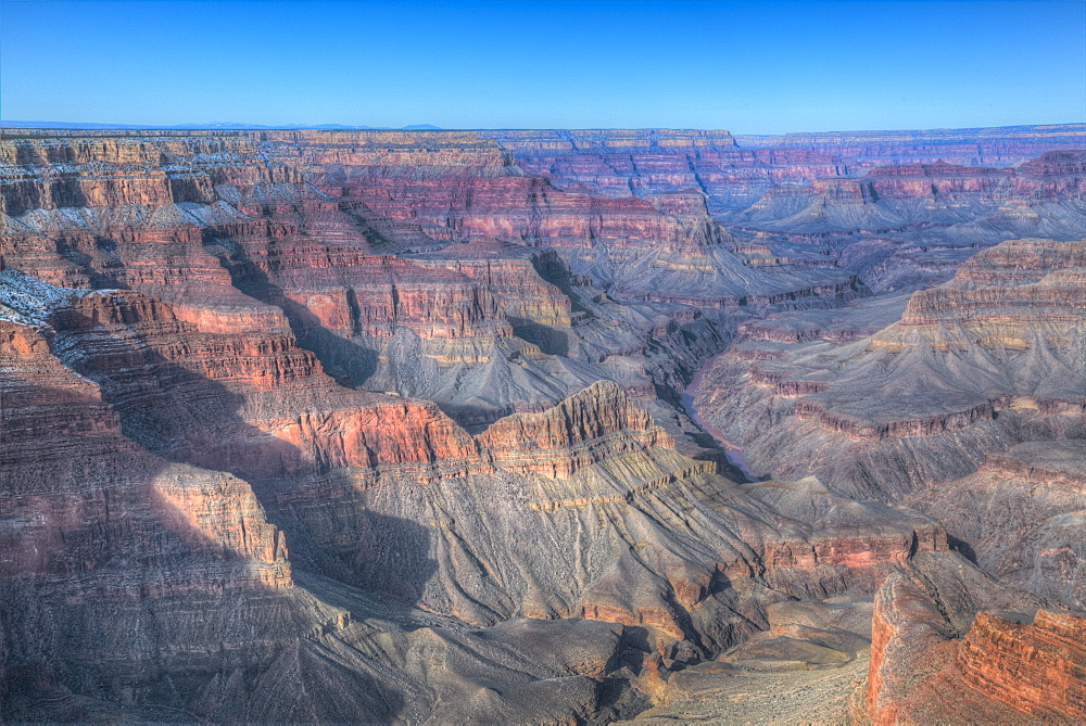 From Pima Point, South Rim, Grand Canyon National Park, UNESCO World Heritage Site, Arizona, USA