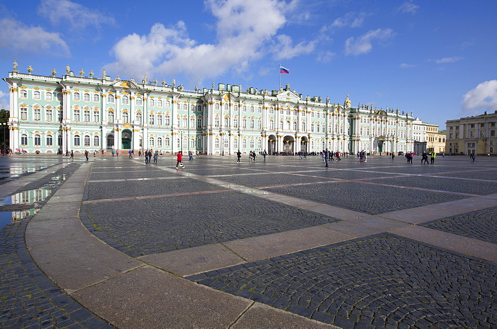 State Hermitage Museum, UNESCO World Heritage Site, St. Petersburg, Russia, Europe