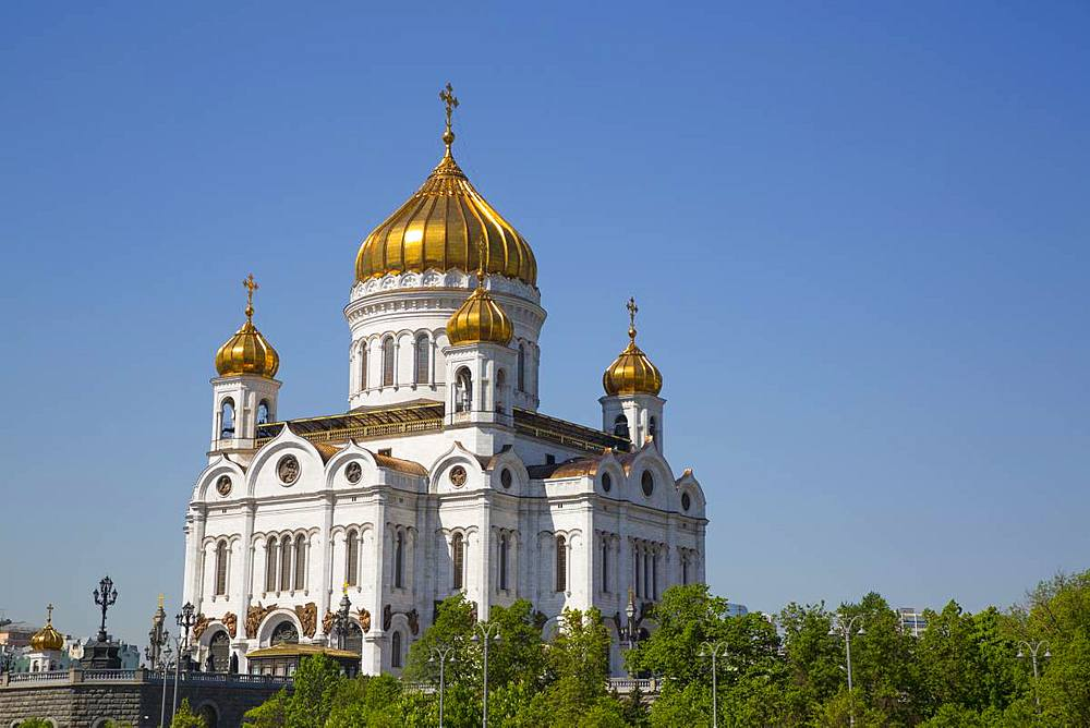 Cathedral of Christ the Saviour, Moscow, Russia, Europe - 801-2382