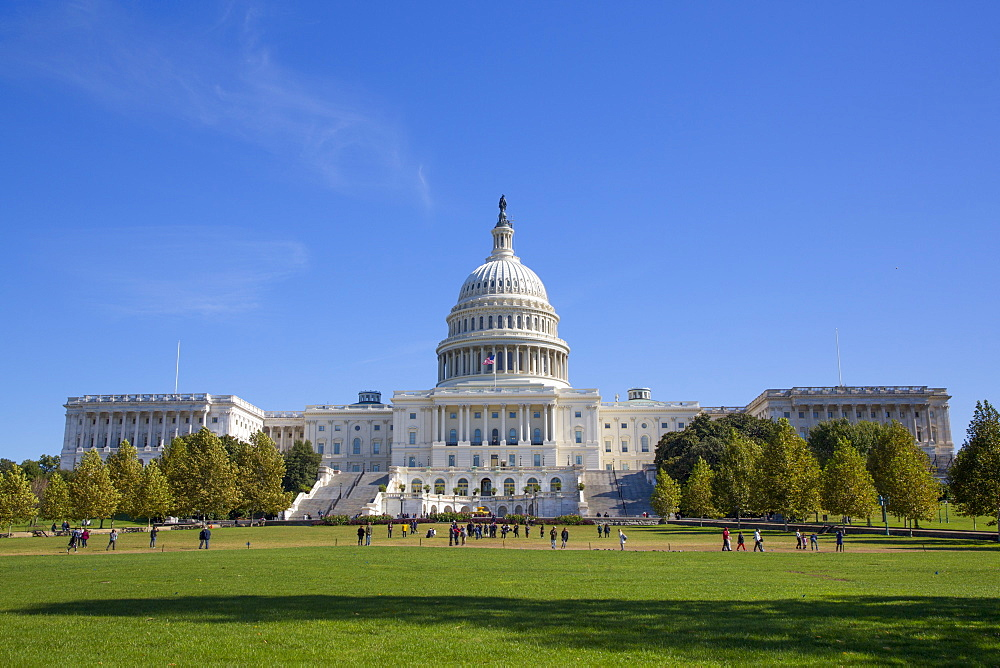 United States Capitol Building, Washington D.C., United States of America, North America - 801-2441