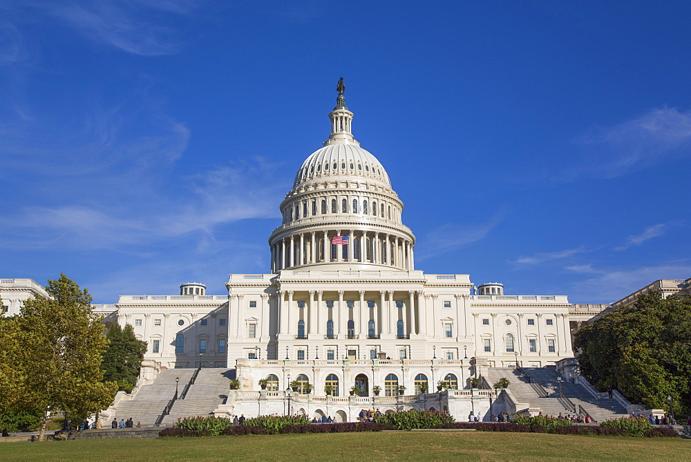 United States Capitol Building, Washington D.C., United States of America, North America - 801-2444