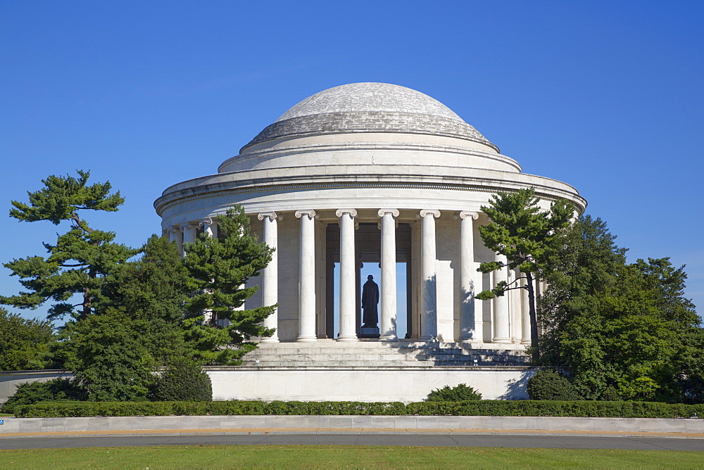 Thomas Jefferson Memorial, Washington D.C., United States of America, North America - 801-2449