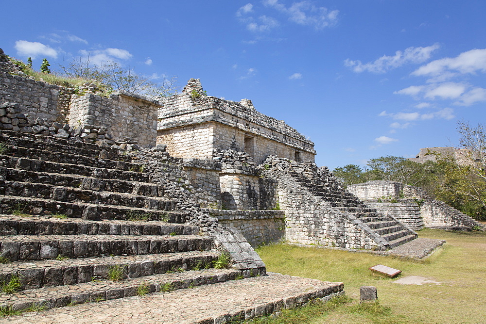 Structure 17, Ek Balam, Yucatec-Mayan Archaeological Site, Yucatan, Mexico, North America