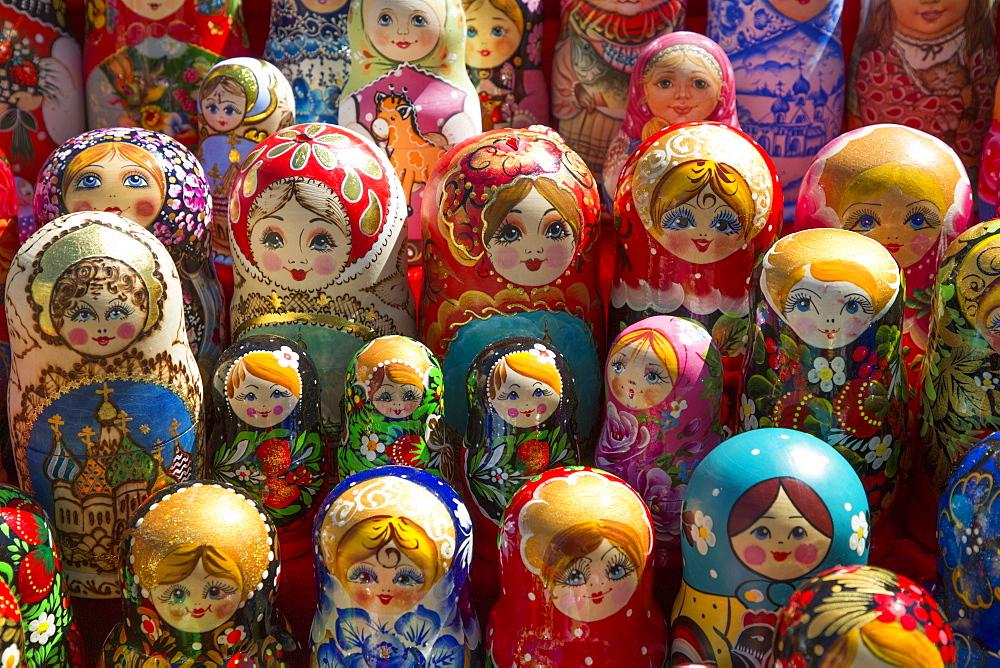 Matryoshka Dolls, Rostov Veliky, Golden Ring, Yaroslavl Oblast, Russia, Europe