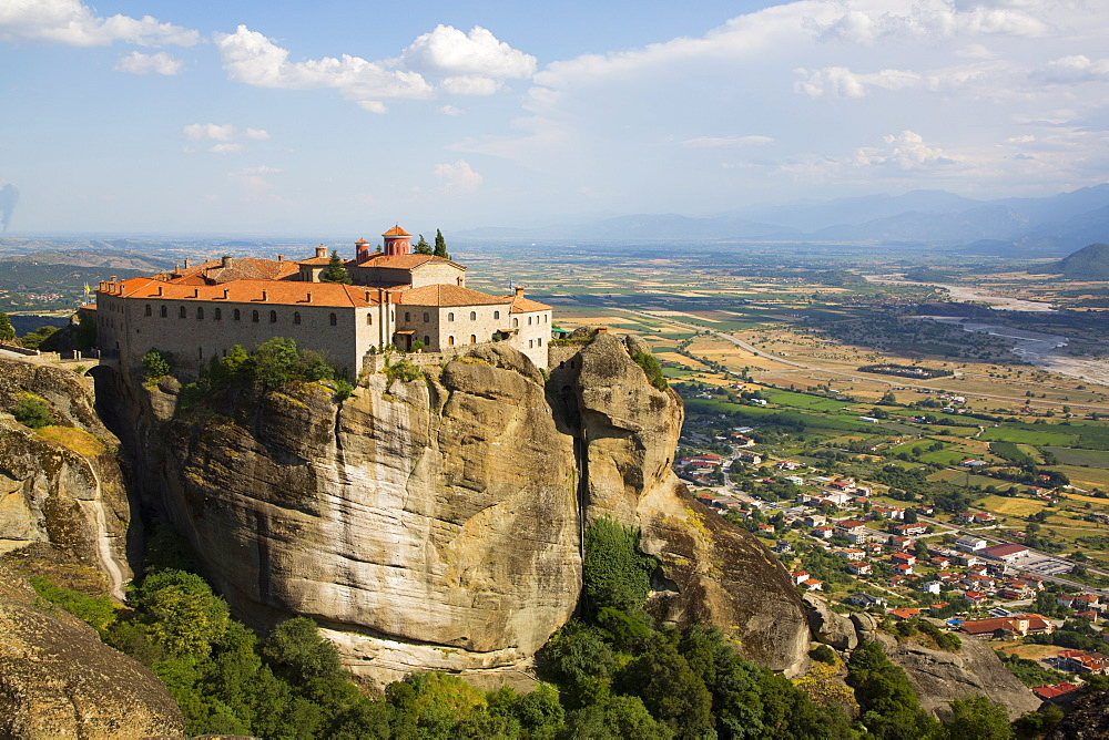 Holy Monastery of St. Stephen, Meteora, UNESCO World Heritage Site, Thessaly, Greece, Europe